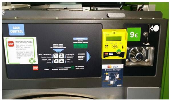 lavadoras automatizadas ecolaundry visa