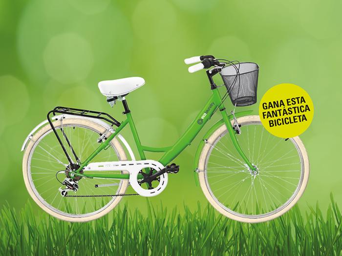 Sorteo bici por subir tu foto en Ecolaundry