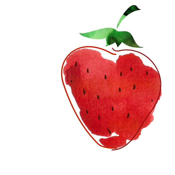 Manchas rojas_ fruto rojo